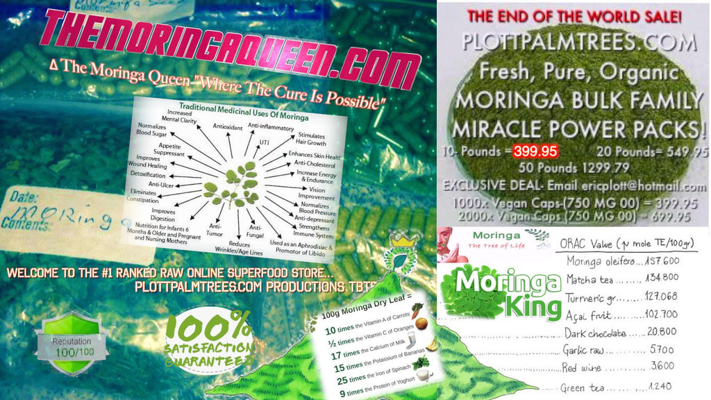 40 pounds of Moringa King Produce™ shipped out TheMoringaQueenCom