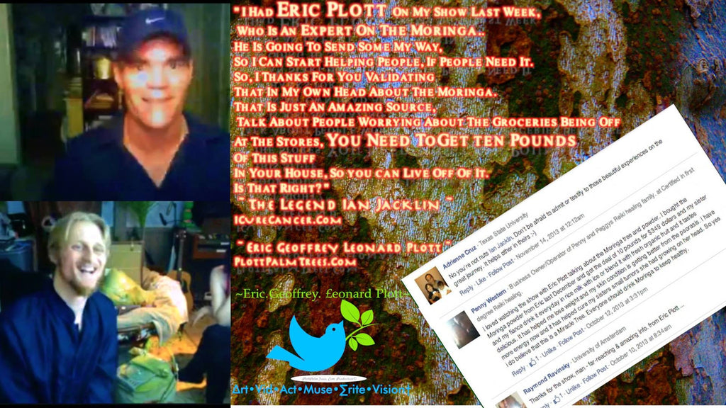 The Ian Jacklin Interviews Eric Plott On iCureCancer †Cure4 Cancer, Diabetes, 300 Diseases PART 1 & 2 Segment