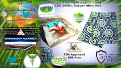 """The Moringa King™ Produce ONLY USES """"The ultimate  sealer bags"""""""
