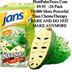 Jans Soursop Juice 12 pk
