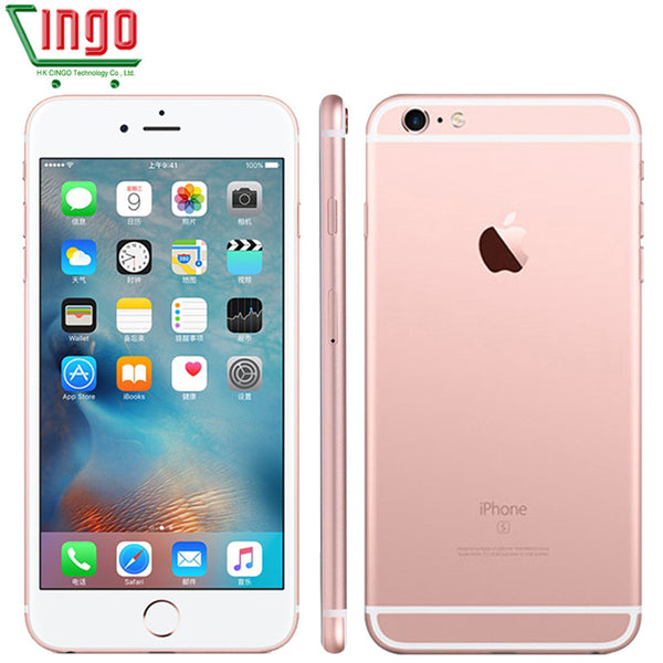 Original Unlocked Apple iPhone 6s Dual Core 12MP Camera Cell Phone 4.7' IPS 2GB RAM 16/32/64/128GB ROM IOS9 LTE 1715mAh