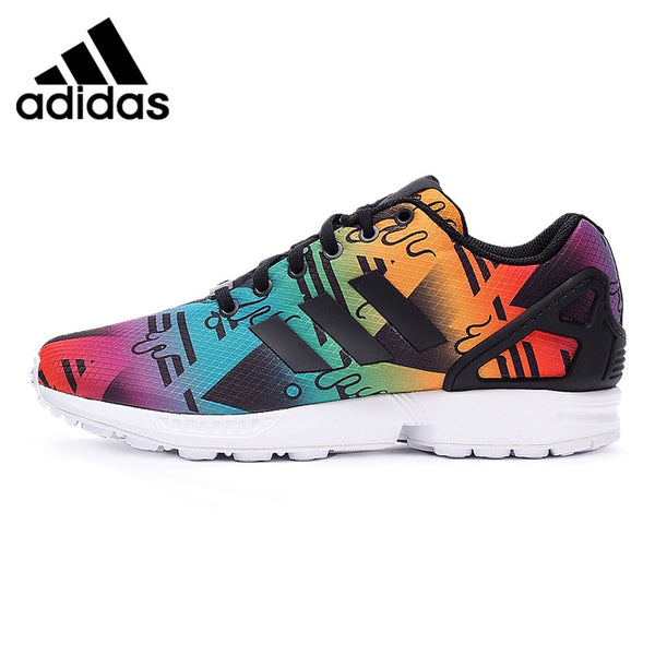 Original New Arrival 2016 Adidas Originals ZX FLUX Men's Printed Skateboarding Shoes Sneakers