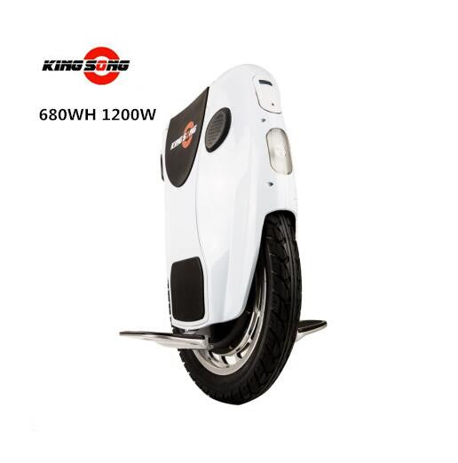 Brand Kingsong KS18 One Wheel Smart Self Balance Electric Scooter Hoverboard with 1200w 680/1360wh Battery Oxboard Unicycle