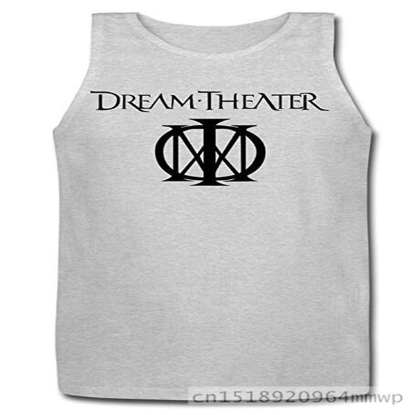 Free shipping Men's Dream Theater Band Logo Pull Me Under Cotton Tank Top