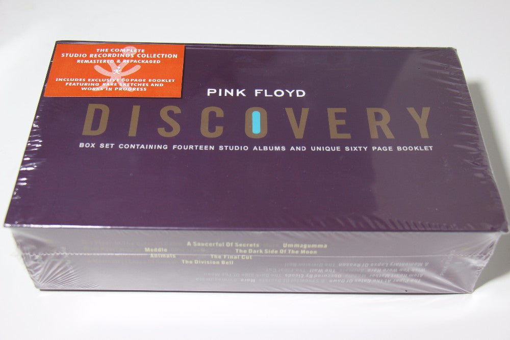 PINK FLOYD DISCOVERY 16 CD+BOOK Box Set NEW SEALED Album