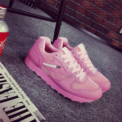 Fashion Shoes Light Breathable Comfortable Trainers Tenis Feminino 2017 Men Women Casual Shoes Autumn Spring Mesh Lovers Shoes