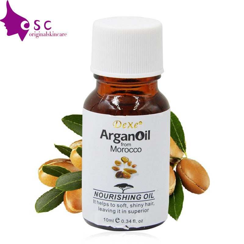 Pure argan oil for hair care 10ml high quality hair oil treatment hair care products for repair hair