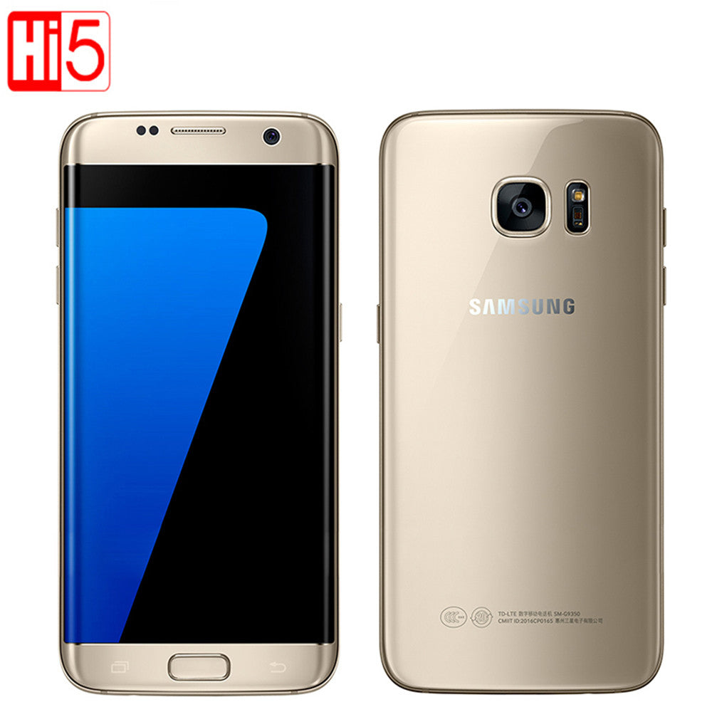 Original Samsung Galaxy S7 / S7 edge Waterproof Smartphone 5.1 inch 4GB RAM 32GB ROM Quad Core NFC WIFI GPS 12MP 4G LTE