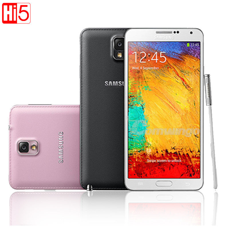 Original Unlocked Samsung Galaxy Note 3 III N9005 Phone LTE WCDMA Quad Core 3G RAM 16G ROM 1080P 13.0MP Quad core 5.7''Screen