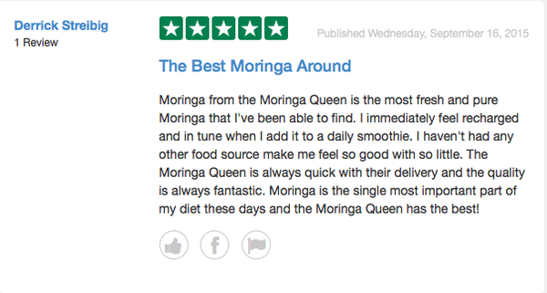 Raw Superfood Produce - The King Moringa Powder