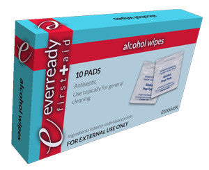 Alcohol Prep Wipes, Box of 10 - emsexpress.com