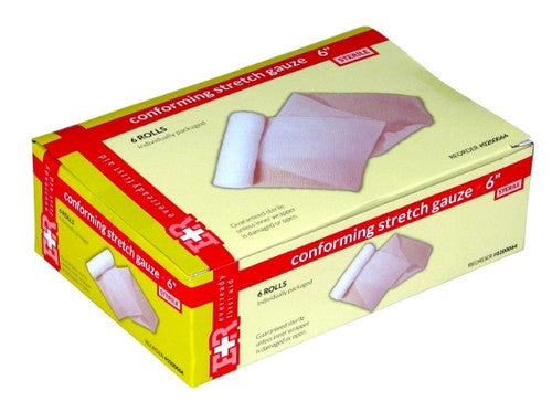 "Non-Sterile Conforming Stretch Gauze Roll - 2"" x 4.1 Yds - emsexpress.com"