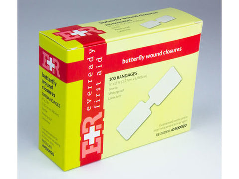 Sterile Butterfly Wound Closure (Large) - emsexpress.com