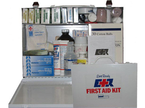 First Aid Kit, 75 Person, Metal Box - emsexpress.com
