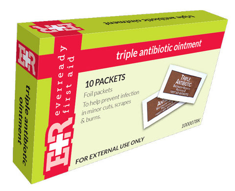 Triple Antibiotic Ointment Packets, 0.9g