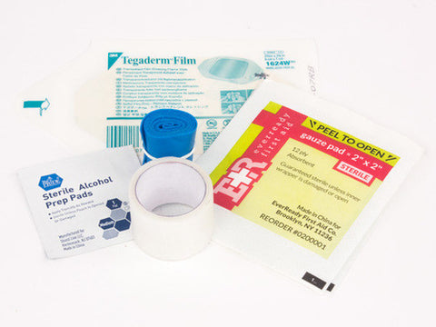 IV Start Kit w/ Tegaderm Dressing & Clear Tape - emsexpress.com