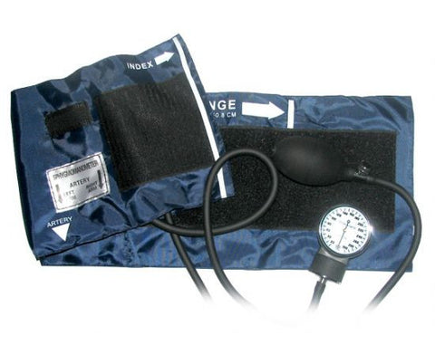 Dixie Adult Size Pocket Aneroid Sphygmomanometer - emsexpress.com
