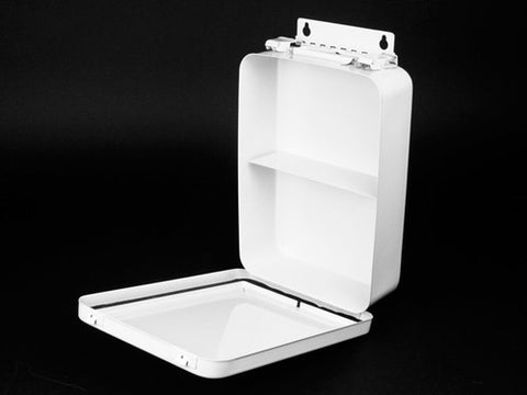 First Aid Kit Case, Metal, #16, Vertical - emsexpress.com