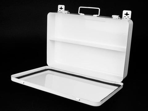 First Aid Kit Case, Metal, #36 - emsexpress.com