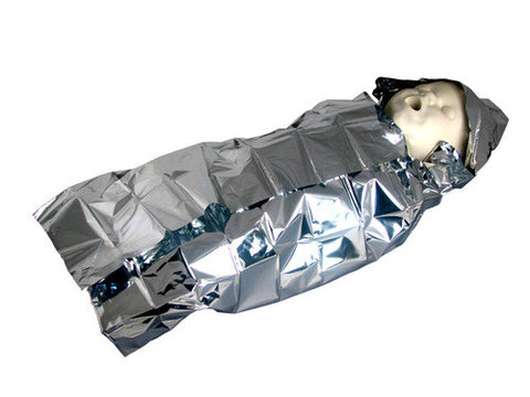 Sterile Aluminum Foil Baby Bunting - emsexpress.com