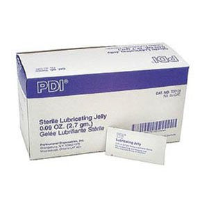 Sterile Lubricating Jelly Packets, 2.7g - 144/BX - emsexpress.com