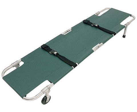 Easy-Fold Wheeled Stretcher - emsexpress.com
