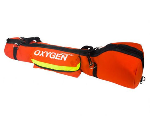 Padded Oxygen O2 Carry Bag for E Cylinder Oxygen Tank - emsexpress.com