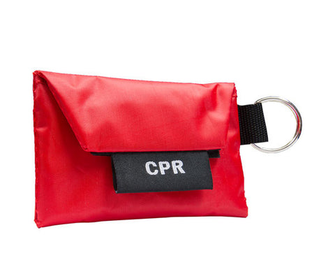 CPR Key Ring w/ One Way Valve (w/ Gloves) - emsexpress.com