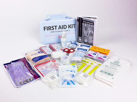 Basic ANSI First Aid Kit, Class A - emsexpress.com