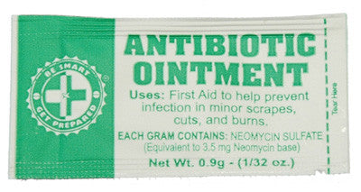 100 Antibiotic Ointment Packets