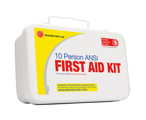 10 Person ANSI/OSHA First Aid Kit - emsexpress.com