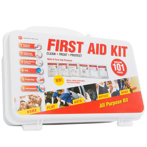101 Piece First Aid Kit - emsexpress.com