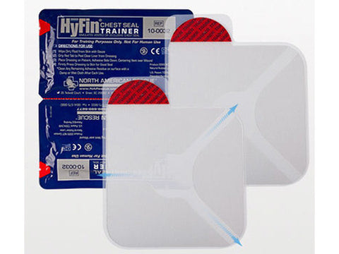 HyFin Chest Seal Trainer, Twin Pack - emsexpress.com