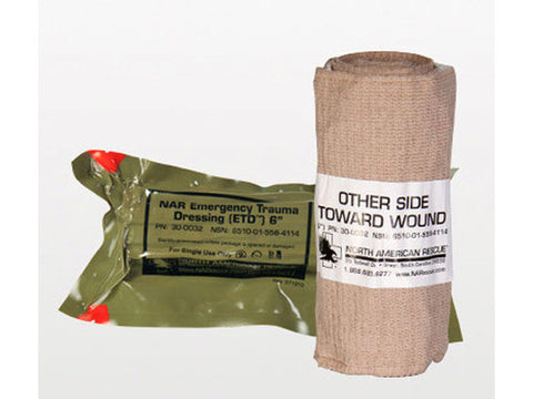 "Emergency Trauma Dressing (ETD) - 6"" - emsexpress.com"