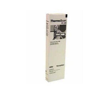 Braun Probe Covers for ThermoScan® Ear Thermometer PRO 4000, 200/Box - emsexpress.com
