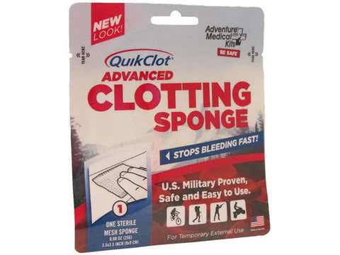 QuikClot Advanced Clotting Sponge, 25g - emsexpress.com