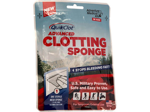 QuikClot Advanced Clotting Sponge, 50g - emsexpress.com