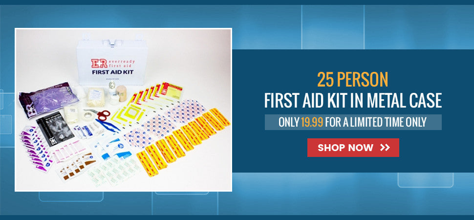 Everready First Aid First Aid Kit, 25 Person