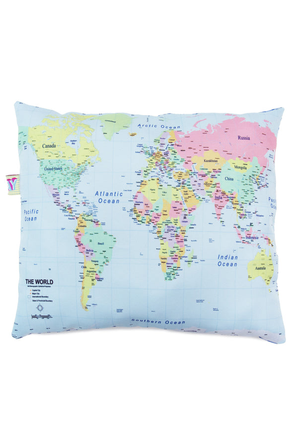 Around The World Pillow