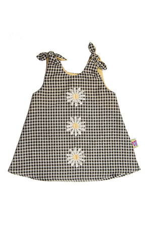 Daisy Top / Black