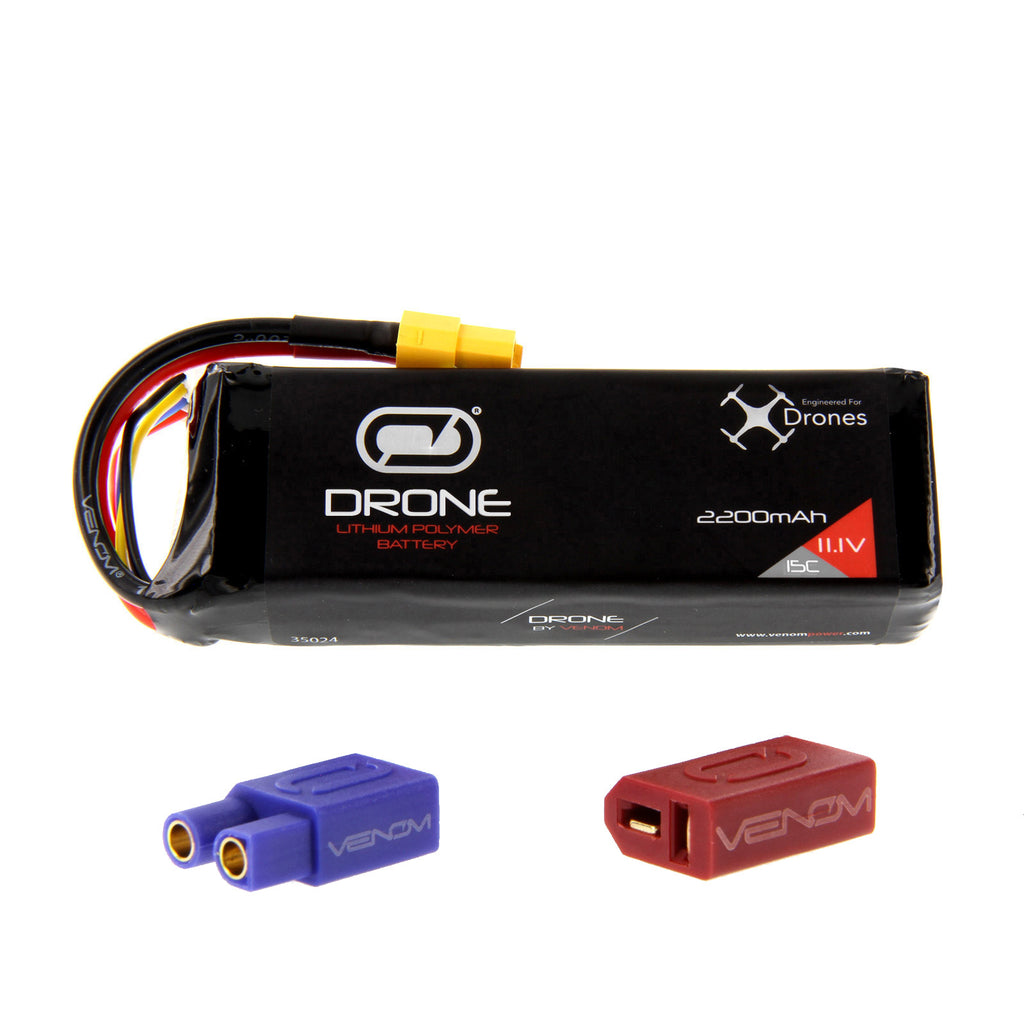 DJI Flame Wheel F330 15C 3S 2200mAh 11.1V LiPo Drone Battery by Venom