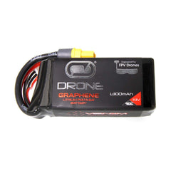 Venom Graphene 90C 3S 1300mAh 11.1V Drone Racing LiPo Battery with UNI 2.0 Plug
