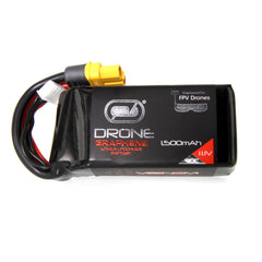 Venom Graphene 90C 3S 1500mAh 11.1V Drone Racing LiPo Battery with UNI 2.0 Plug
