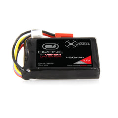 Venom 30C 3S 450mAh 11.1V LiPo Drone Battery with JST Plug