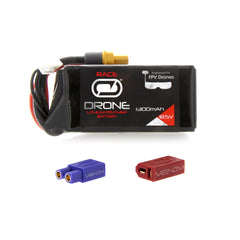 Venom 75C 5S 1300mAh 18.5V Drone Racing LiPo Battery with UNI 2.0 Plug