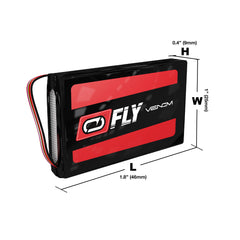 Venom Fly 30C 1S 700mAh 3.7V LiPo Battery with Micro Losi and JST Plug