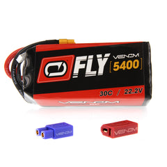 Venom Fly 30C 6S 5400mAh 22.2V LiPo Battery with UNI 2.0 Plug
