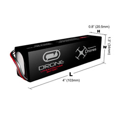 DJI Phantom Battery by Venom 20C 3S 2200mAh 11.1 LiPo with XT60 Plug
