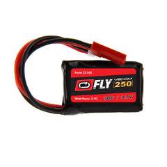 Venom Fly 30C 1S 250mAh 3.7V LiPo Battery with Micro Losi and JST Plug