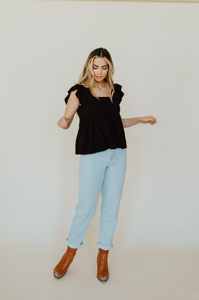 Lettie Top in Black